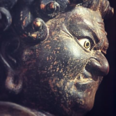 浄楽寺・不動明王立像